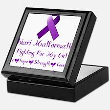 Fighting for my girl Keepsake Box