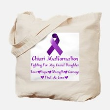 Fighting for my Granddaughter Tote Bag