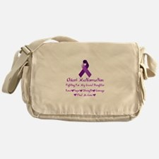 Fighting for my Granddaughter Messenger Bag