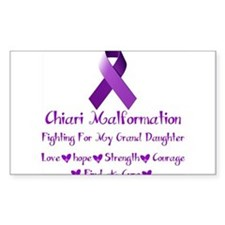 Fighting for my Granddaughter Decal
