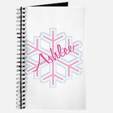 Ashlee Snowflake Personalized Journal