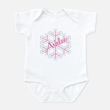 Ashlee Snowflake Personalized Infant Bodysuit