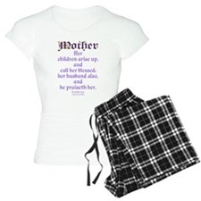 Mothers Day Bible Quote Pajamas