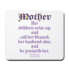 Mothers Day Bible Quote Mousepad