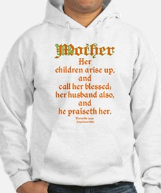 Bible Passage for Mothers Hoodie