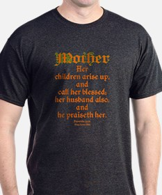Bible Passage for Mothers T-Shirt