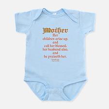 Bible Passage for Mothers Infant Bodysuit