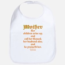 Bible Passage for Mothers Bib