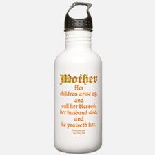 Bible Passage for Mothers Water Bottle