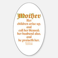 Bible Passage for Mothers Decal