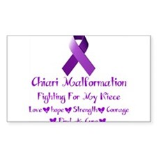 Fighting For my Niece Decal