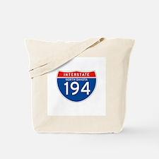 Interstate 194 - ND Tote Bag