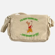 Teeing Off At 80 Messenger Bag