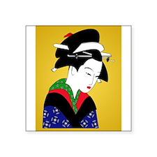 Geisha Girl Sticker