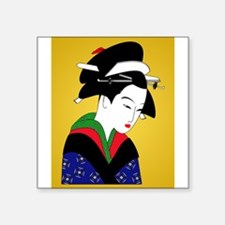 Geisha Girl Sticker