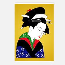 Geisha Girl Postcards (Package of 8)