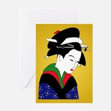 Geisha Girl Greeting Cards (Pk of 20)