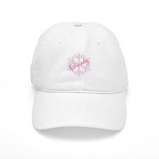 Brandy Snowflake Personalized Baseball Cap