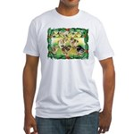Chicks For Christmas! Fitted T-Shirt