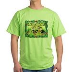 Chicks For Christmas! Green T-Shirt