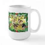 Chicks For Christmas! Large Mug