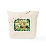 Chicks For Christmas! Tote Bag
