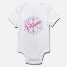 Briana Snowflake Personalized Infant Bodysuit