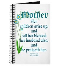 Proverbs 31:28 Flower Journal