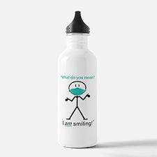I AM Smiling! Water Bottle