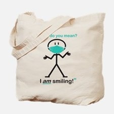 I AM Smiling! Tote Bag