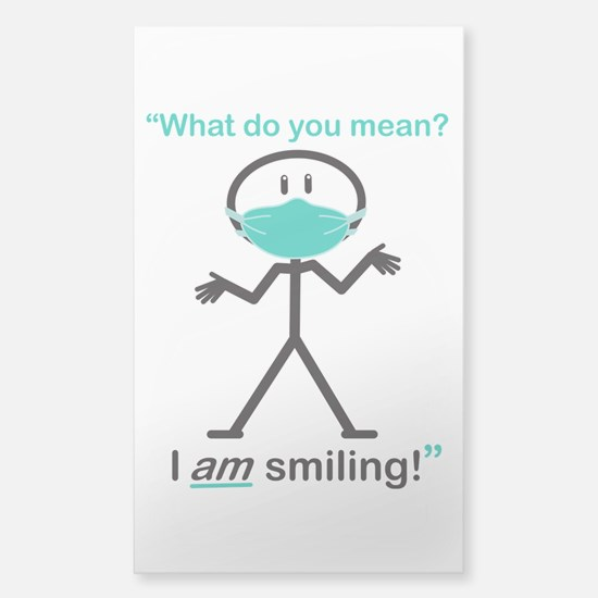 I AM Smiling! Decal