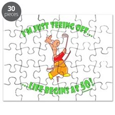 Teeing Off At 50 Puzzle