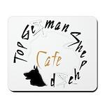 Top GSD cafe Mousepad