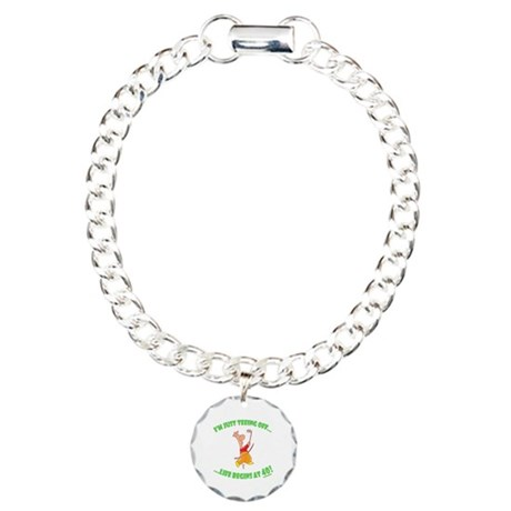 Teeing Off At 40 Charm Bracelet, One Charm