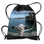 boat dock CALENDAR - WALL 75_H_F.pn Drawstring Bag