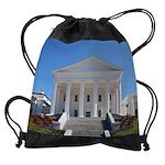 VA Capitol build calendar copy.png Drawstring Bag
