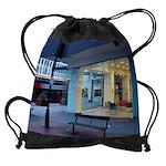 city sceneCALENDAR - WALL 75_H_F co Drawstring Bag