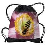 bee pollenCALENDAR - WALL 75_H_F.pn Drawstring Bag