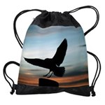 birdyCALENDAR - WALL 75_H_F.png Drawstring Bag