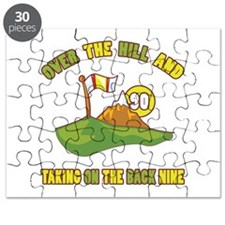 Golfing Humor For 90th Birthday Puzzle