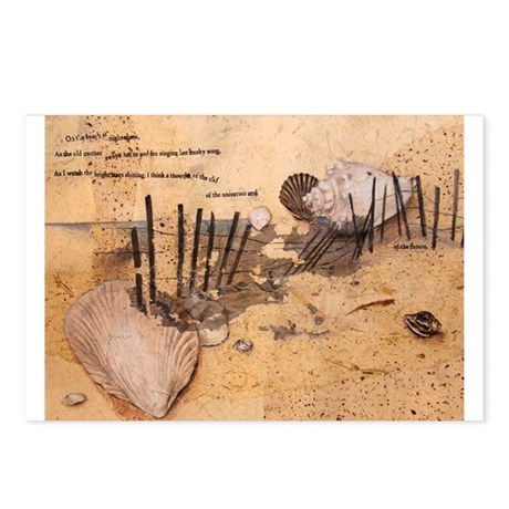 On the Beach Postcards (Package of 8)