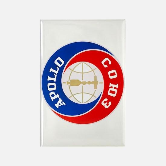 Apollo Soyuz Logo Rectangle Magnet