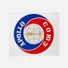 Apollo Soyuz Logo Throw Blanket