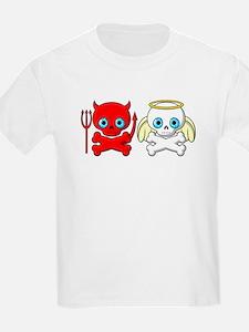 Good Vs Evil Kids T-Shirt