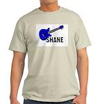 Guitar - Shane - Blue Ash Grey T-Shirt