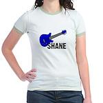 Guitar - Shane - Blue Jr. Ringer T-Shirt