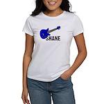 Guitar - Shane - Blue Women's T-Shirt