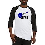 Guitar - Shane - Blue Baseball Jersey