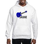 Guitar - Shane - Blue Hooded Sweatshirt