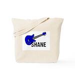 Guitar - Shane - Blue Tote Bag